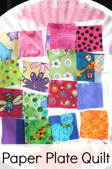 Paper Plate Quilt Craft: Exploring Colours, Patterns and Textures