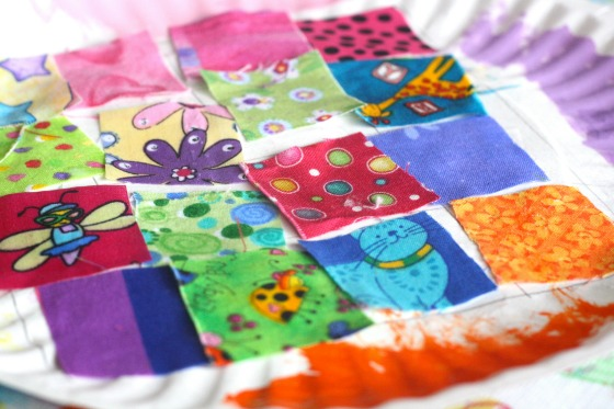 Paper Plate Quilt for Preschool