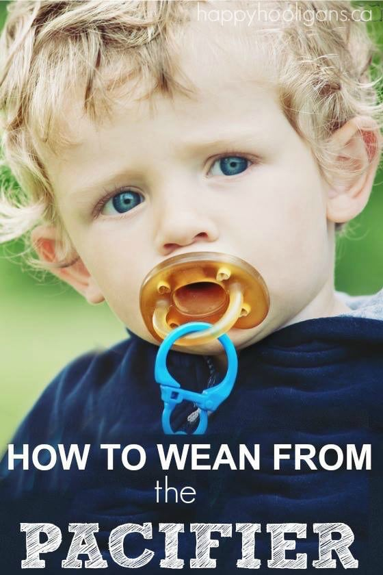 pacifier weaning - how to wean toddler from pacifier