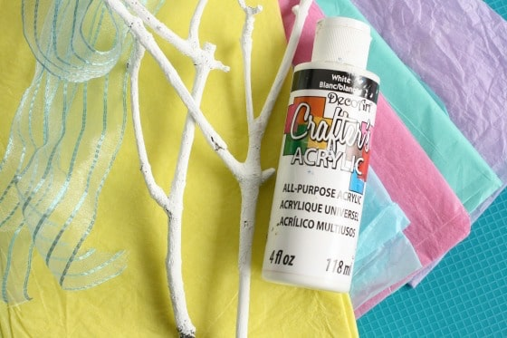 supplies for spring tree craft