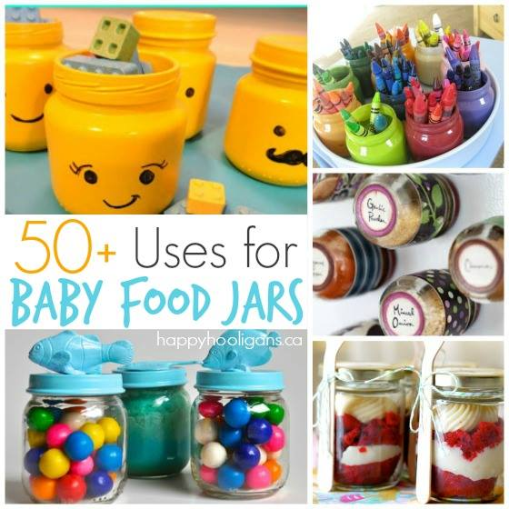 craft ideas for baby food jars 50 fantastic ways to re use baby food jars happy hooligans 7554
