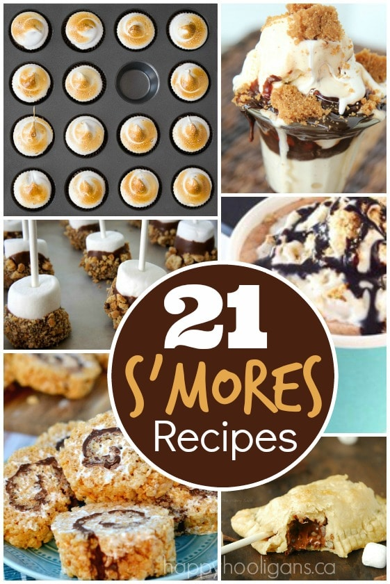 21 S'mores Recipes - Happy Hooligans