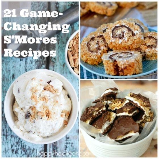 3 smores recipes smores ice cream smores bark smores rice krispie pinwheels