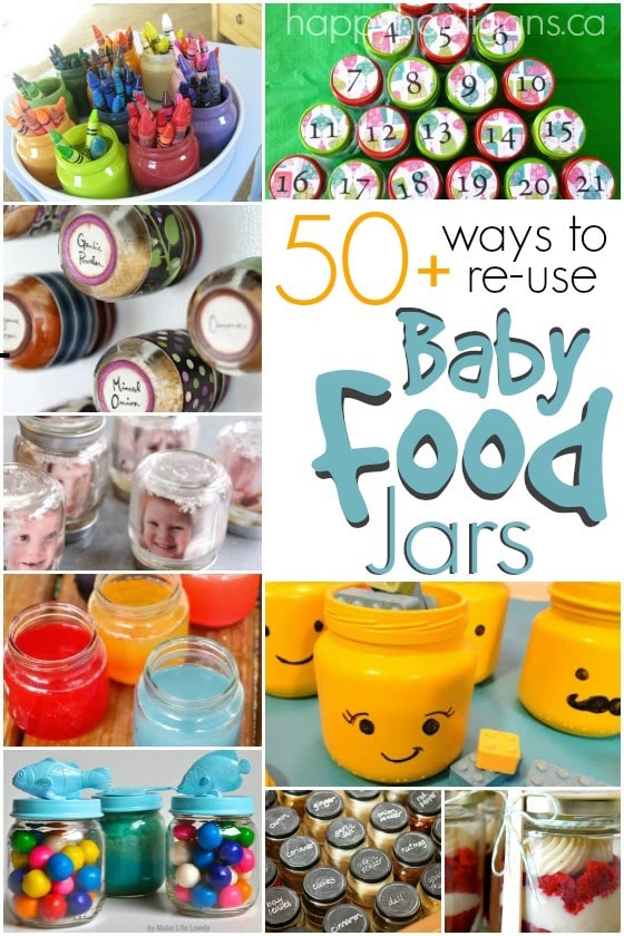 50+ Ways to Re-Use Baby Food Jars - Happy Hooligans