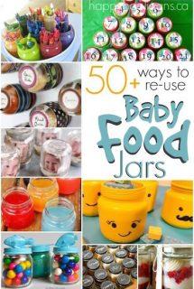 Re Use Baby Food Jars