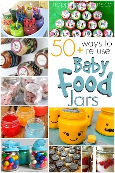 Re Use Baby Food Jars