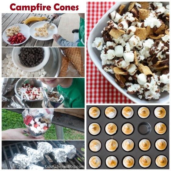 Smores treats smores cones smores tarts smores popcorn