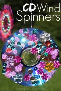 CD Wind Spinner Ornaments - Happy Hooligans