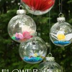 DIY Flower Drop Garden Ornaments