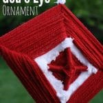 Gods Eye Weaving Craft for Canada Day