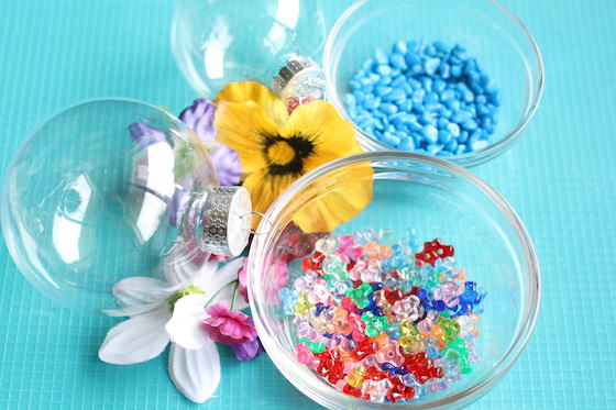 supplies for making flower drop garden ornaments
