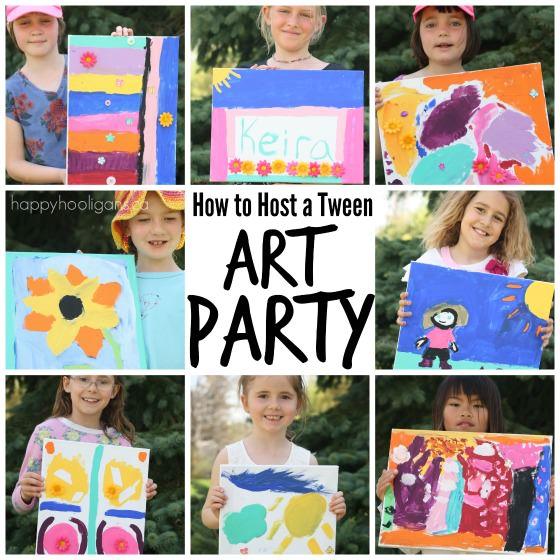 tween art party