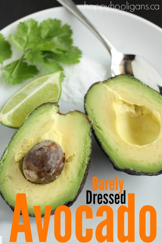 best way to eat plain avocado