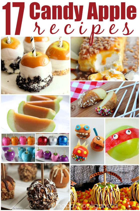 17 Candy Apple Recipe - Happy Hooligans