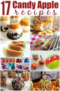 17 Candy Apple Recipe Round Up - Happy Hooligans  copy