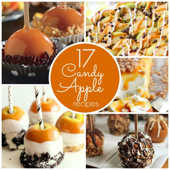 17 creative recipes for candy apples