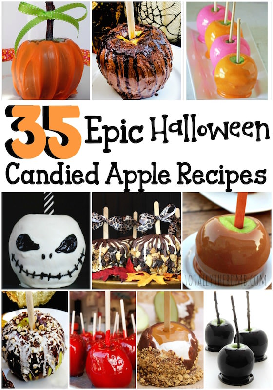 35 ways to make candy apples