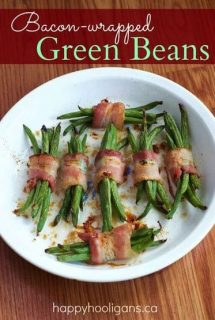 Easy Bacon-wrapped Green Beans