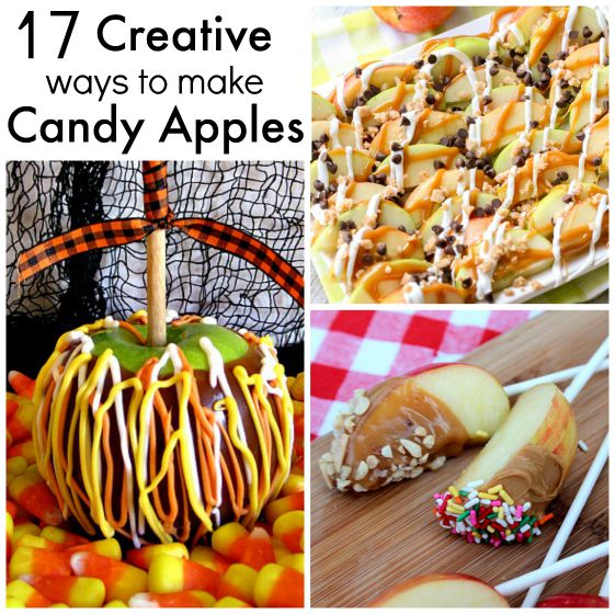 Creative Caramel Apple Ideas
