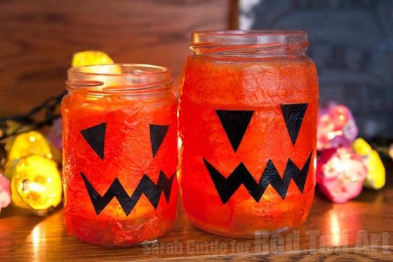 easy halloween lanterns