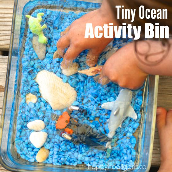 tiny ocean activity bin