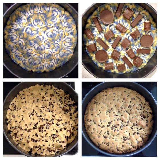 Minions Candy Bar Cookie Pie Step by Step