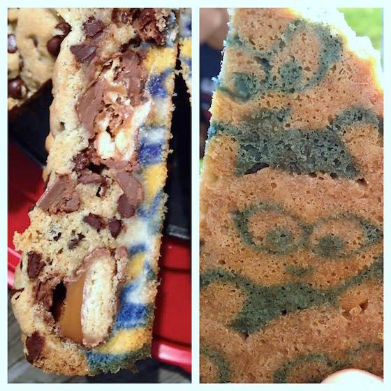 Minions Candy Bar Cookie Dessert