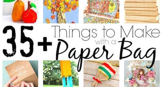 35 Cool Paper Bag Crafts For Kids Happy Hooligans