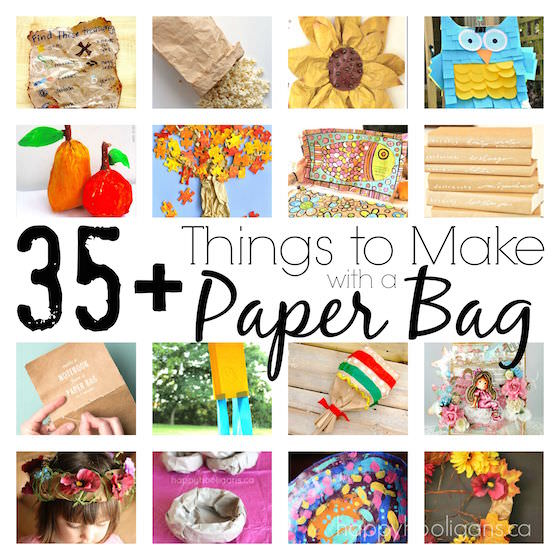 35+ Very Cool Things To Make With A Paper Bag - Happy ...