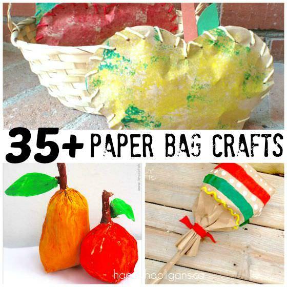 35+Paper Bag Crafts for Kids copy