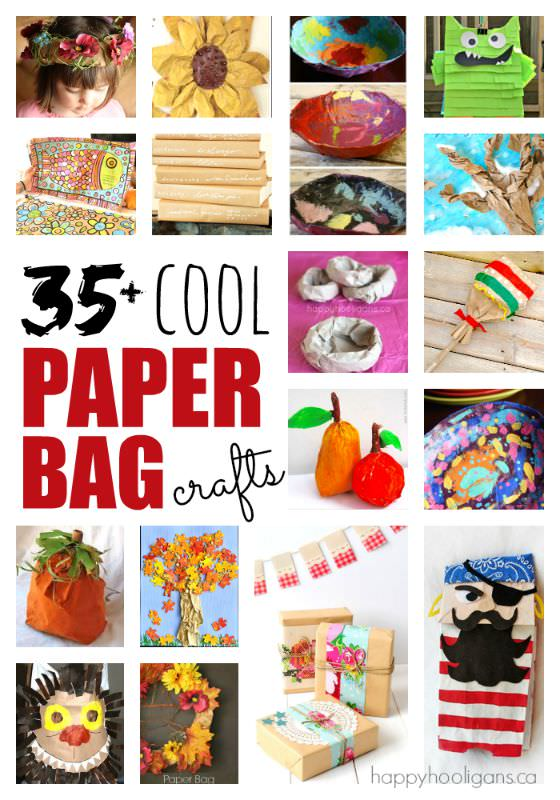 35 very cool things to make with a paper bag happy for Cool things to make and do