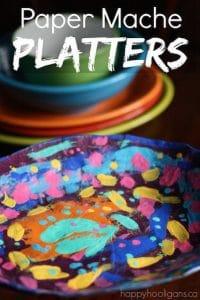 Paper Mache Platters copy