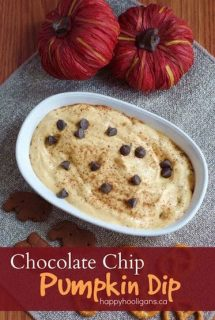 Chocolate Chip Pumpkin Dip