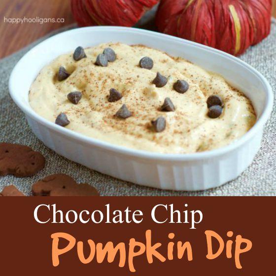 RECIPE for Chocolate Chip Pumpkin Dip