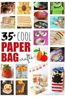 35+ Cool Paper Bag Crafts for Kids