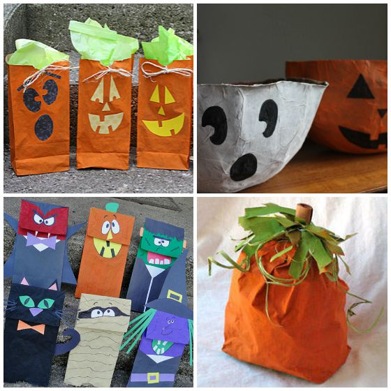 35 Cool Paper Bag Crafts For Kids Happy Hooligans