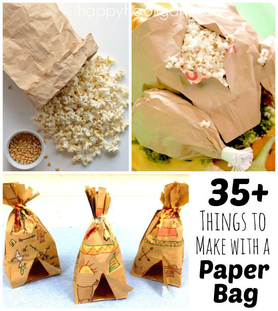 35  very cool things to make with a paper bag