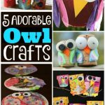 5 owl crafts for kids to make