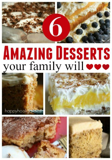 6 Go-To Dessert Recipes Your Family Will Love