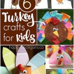 6 Turkey Crafts for Kids - Happy Hooligans  copy