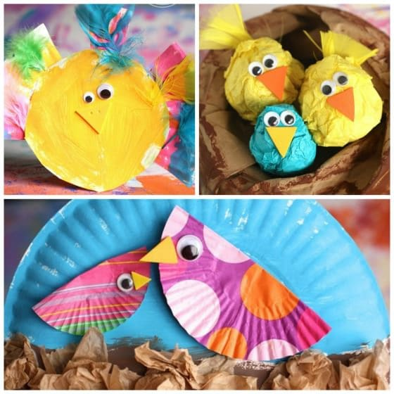 Baby Bird Crafts For Kids To Make