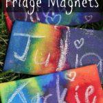 Wax Resist Fridge Magnets copy