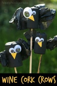 Wine Cork Crows