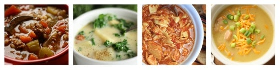 easy recipes for soup