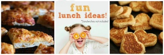 fun and easy lunch recipes for kids