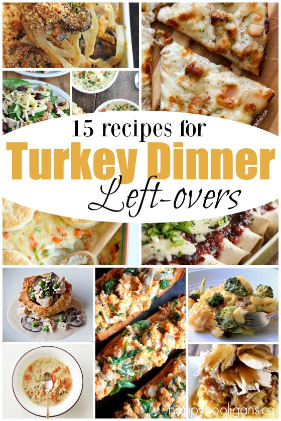 15 creative Leftover Turkey Recipes