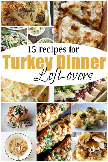 15 things to make with leftovers from turkey dinner