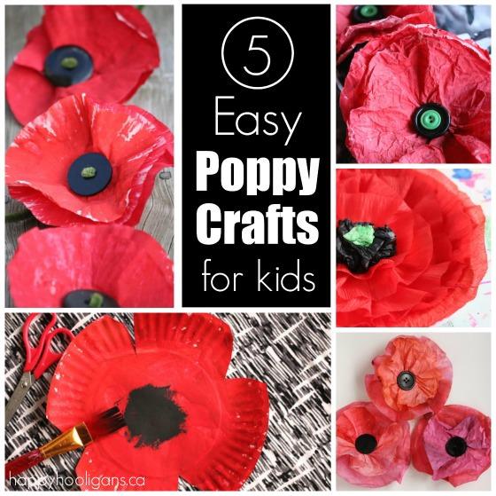Poppy Art Ideas Early Years