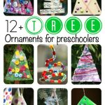 Christmas Tree Tree Ornaments for Toddlers and Preschoolers to Make