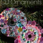 Mandala CD Ornaments